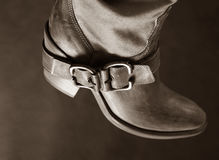 Boot of the cowboy Royalty Free Stock Photography