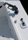 Boot, das Gas erhält Lizenzfreie Stockfotos