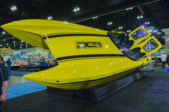 Boot DCB-M35 auf Anzeige Lizenzfreies Stockfoto
