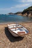 Mooie kustlijnen in het eiland van Elba. Italië stock foto