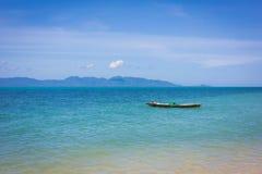 Boot in dem Meer Stockbilder