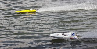 Boot der FSR Kategorie RC Stockfotos