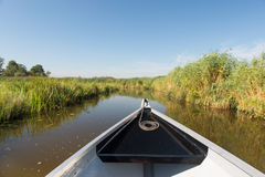 Boot in der Natur Stockbild