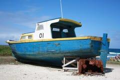 Boot in der Sonne Lizenzfreies Stockfoto