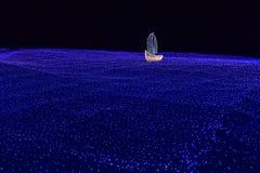 Boot des Lichtes lizenzfreies stockfoto