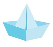Boot des Papiers Stockbilder