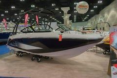 Boot des Scarabäus 215 auf Anzeige Lizenzfreies Stockfoto