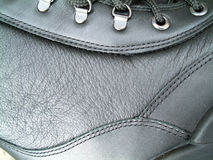 Boot detail. Close up of a pair of Army Boots Royalty Free Stock Images