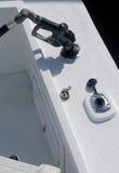 Boot die Gas krijgt Royalty-vrije Stock Foto's