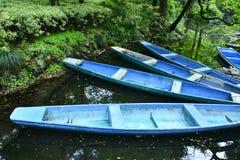 Boot door Meer Royalty-vrije Stock Foto