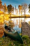 Boot in einem See Lizenzfreie Stockfotografie