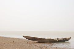 Boot en meer Stock Foto