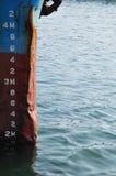 Boot en overzees Royalty-vrije Stock Fotografie