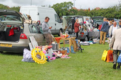 Boot Fair Royalty Free Stock Photo