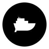 Boot Glyphikone - Fracht - Stock Abbildung