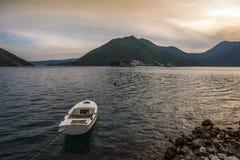 boot in het Adriatische Overzees Royalty-vrije Stock Fotografie