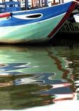 Boot in Hoi Royalty-vrije Stock Afbeeldingen