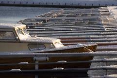 Boot im Hafen Stockfoto