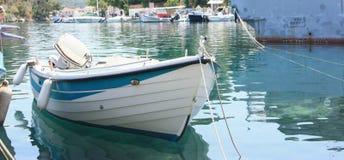 Boot im Pier Lizenzfreie Stockfotografie