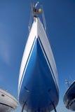 Boot im trockenen Dock Stockfoto