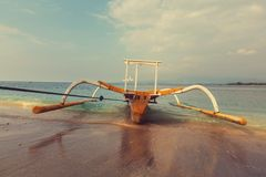 Boot in Indonesië Stock Afbeeldingen