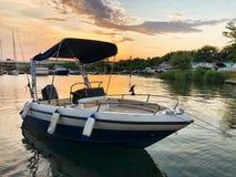 Boot of jacht royalty-vrije stock afbeeldingen