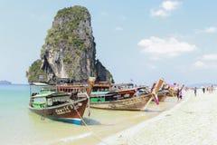 Boot Krabi Thailand Stockbild