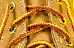 Boot Laces 2 Royalty Free Stock Images