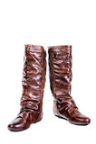 Boot, Leather boots Stock Images