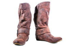 Boot, Leather boots Royalty Free Stock Photos