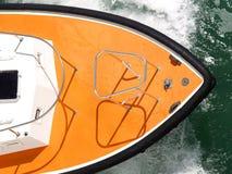 Boot in Meer Lizenzfreies Stockbild