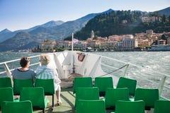 Boot, meer Como, Italië royalty-vrije stock fotografie