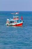 Boot, Meer, Wasser Stockbild