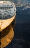 Boot op de oceanic kust Royalty-vrije Stock Afbeeldingen