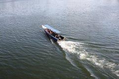 Boot op de rivier Royalty-vrije Stock Fotografie