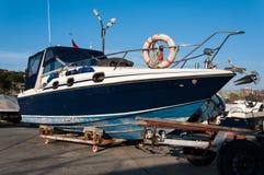 Boot op de Voorraden royalty-vrije stock fotografie