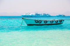 Boot op het Egyptische Rode Overzees Royalty-vrije Stock Fotografie