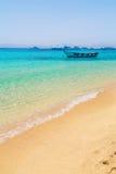 Boot op het Egyptische Rode Overzees Royalty-vrije Stock Foto
