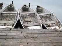 Boot op het meer (25) Stock Fotografie