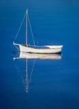 Boot op het meer Stock Afbeelding