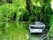 Boot op het meer Royalty-vrije Stock Fotografie