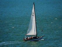 Boot op het overzees Stock Fotografie