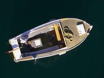Boot op het overzees Stock Afbeeldingen