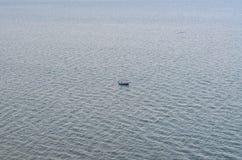 Boot op het overzees Royalty-vrije Stock Foto