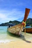 Boot op het Strand, Phuket stock fotografie