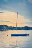 Boot op het water Royalty-vrije Stock Foto