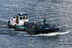 Boot op Maas stock foto