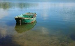 Boot op Meer stock foto