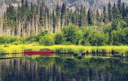 Boot op meer Royalty-vrije Stock Fotografie