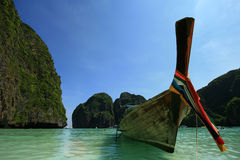 Boot op overzees, Thailand Stock Foto